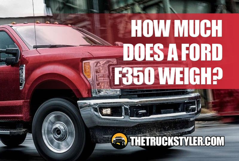 ford f350 weight