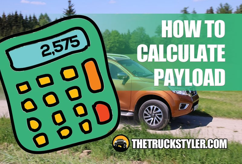 how to calculate truck payload