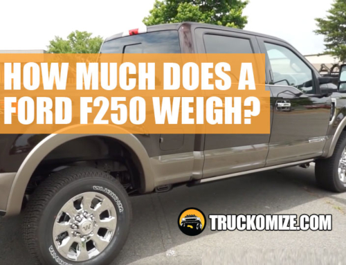 1999 ford f250 super duty 7.3 diesel towing capacity