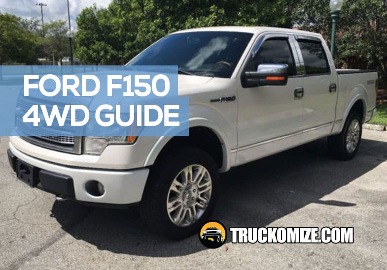 How Ford F150 4WD works