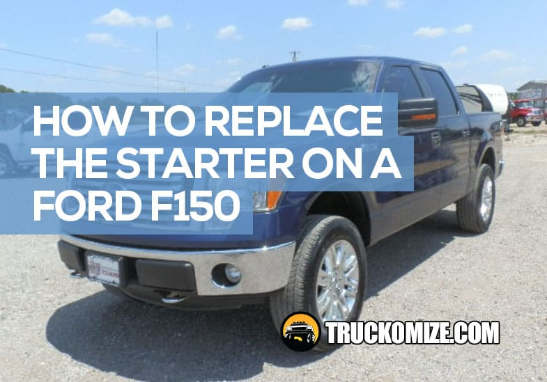 how to replace starter on ford f150