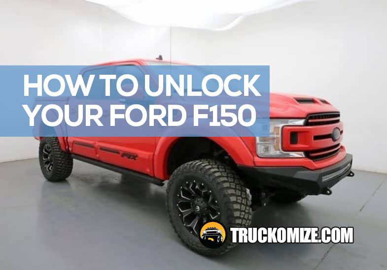 how to unlock f150 without key